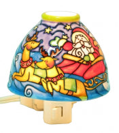 Translucent Porcelain Santa Night Light