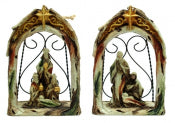 Nativity Ornament Set of 2