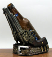 2 Revolver Wine Bottle Holder