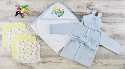 Bambini Hooded Towel, Hats and Wash Cloths