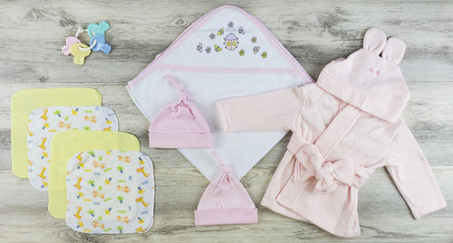 Bambini Hooded Towel, Hats, Wash Coths and Robe