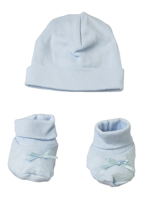 Preemie Cap and Bootie Set