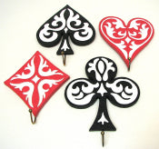 Game Suit Wall Hooks Set of 4
