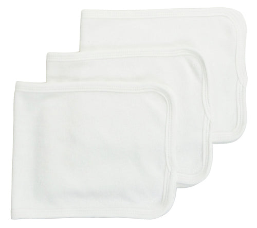 Bambini Baby Burpcloth With White Trim (Pack of 3)