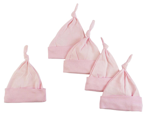 Girls 4 Piece Pink Layette Set