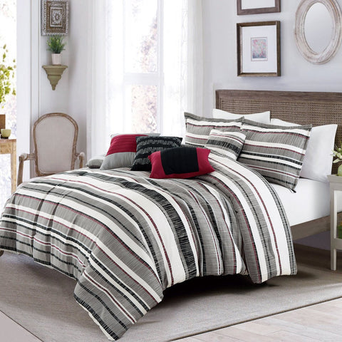 [Same Memory] 3PC Vermicelli - Quilted Patchwork Quilt Set (Full/Queen Size)