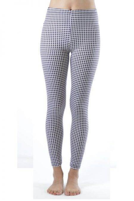 2D Geometric Ankle Leggings - Home Goods Galore