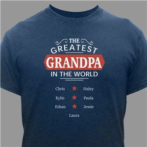 Personalized Grandma's Bunnies White T-Shirt