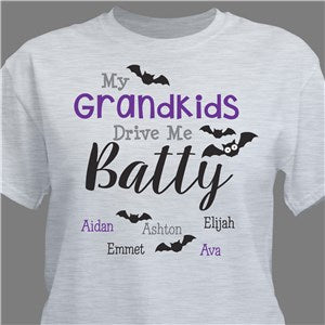 Personalized Grandmas Cupcakes White T-Shirt