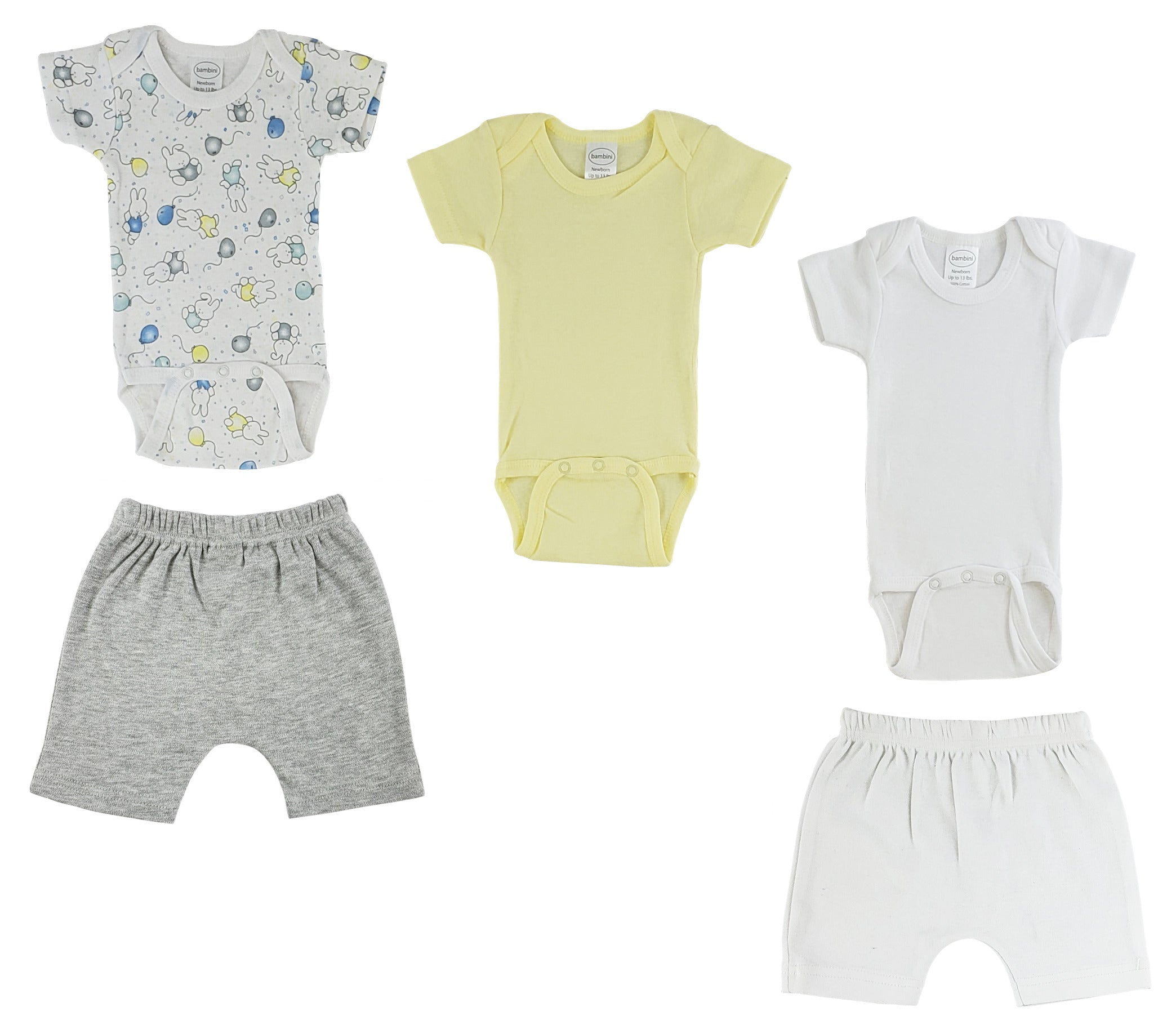 Infant Onezies and Shorts