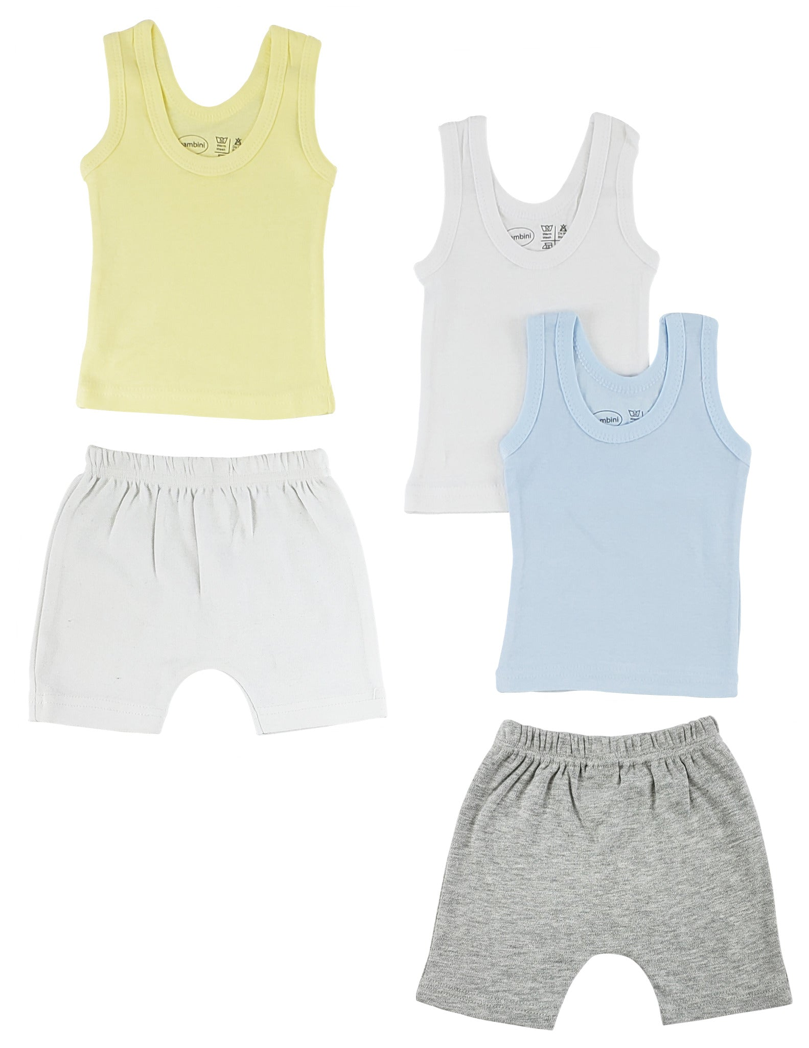 Boys Tank Tops and Shorts