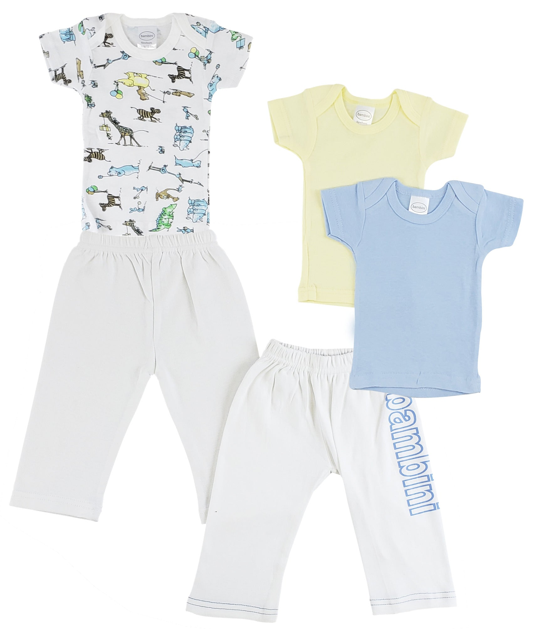 Infant Boys T-Shirts and Track Sweatpants