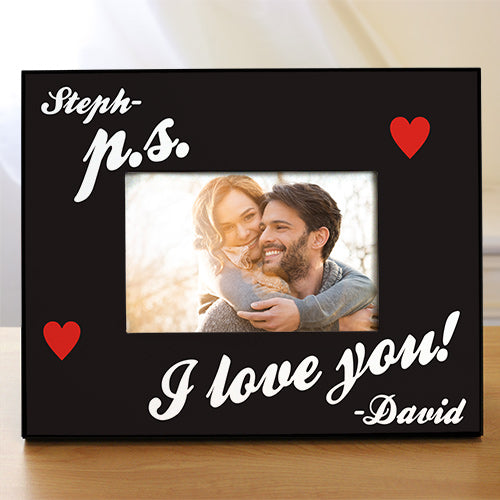 P.S. I Love You Personalized Picture Frame - Home Goods Galore
