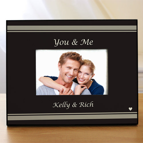 You & Me Personalized Picture Frame - Home Goods Galore
