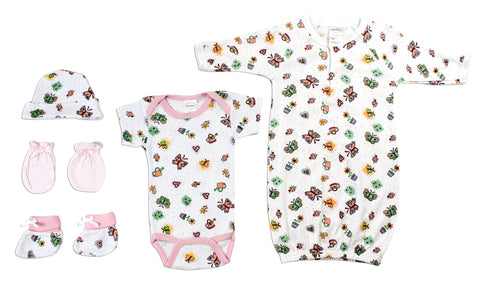 Bambini Bodysuit Onezies (Pack of 3)