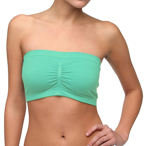 Seamless Strapless Bandeau Tube Top Bra