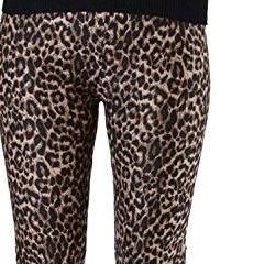 Brown Animal Print Plus Size Leggings - Home Goods Galore