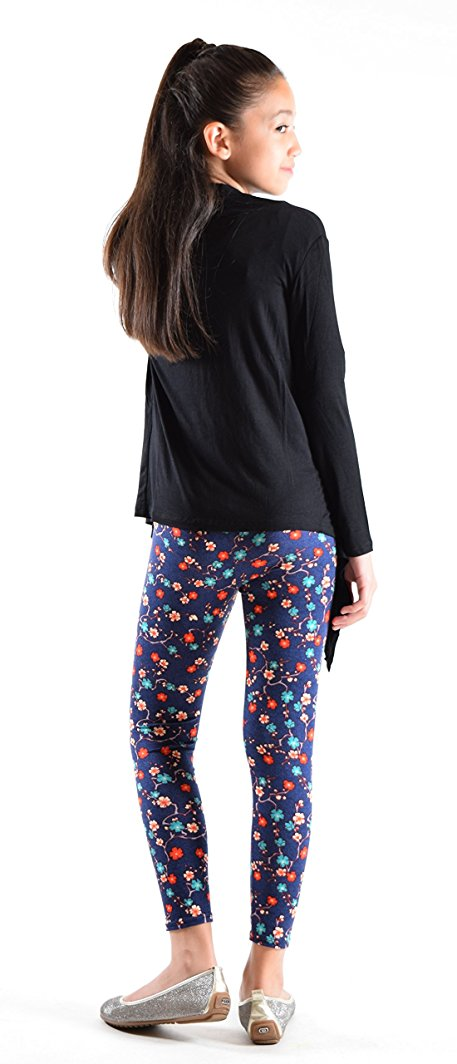 Girls Fun Printed Leggings-Spring - Home Goods Galore