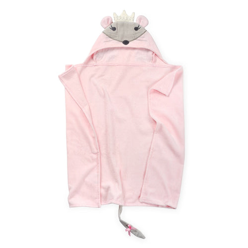 Pink Mouse Kids Hooded Towel Premium Cotton