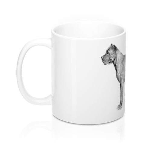 Cane Corso Dog Mug 11oz - Home Goods Galore