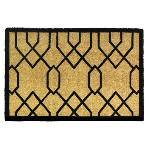 Gatsby Art Deco Coir Door Mat