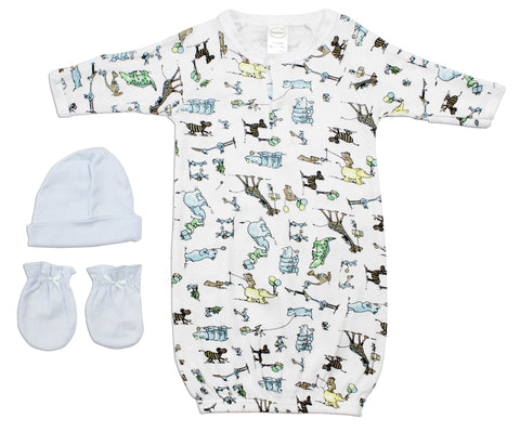 Bambini Newborn Baby Girls 18 Pc Layette Baby Shower Gift Set