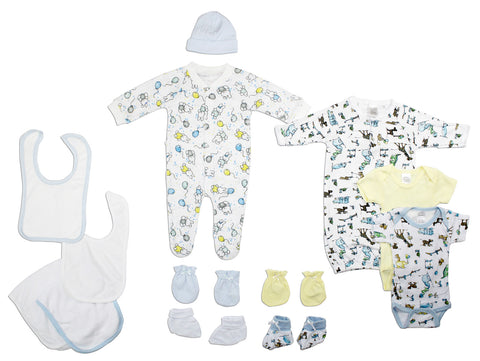Bambini Girls' 3 Piece Layette Set