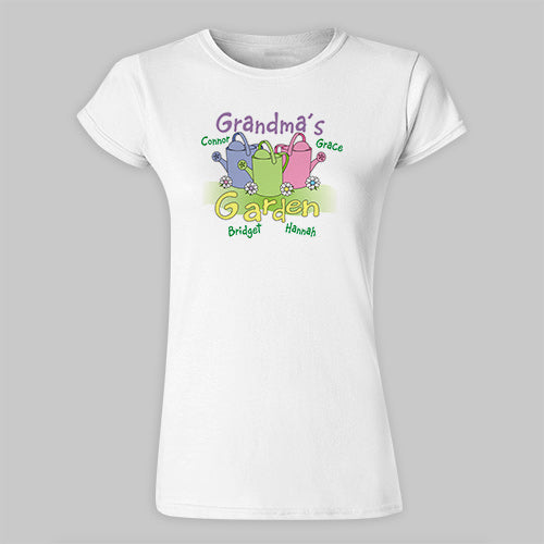 Garden Womens Fitted T-Shirt - Home Goods Galore