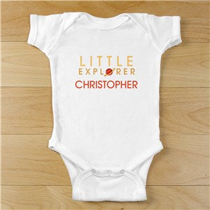 Personalized King/Queen of the Castle Baby Creeper