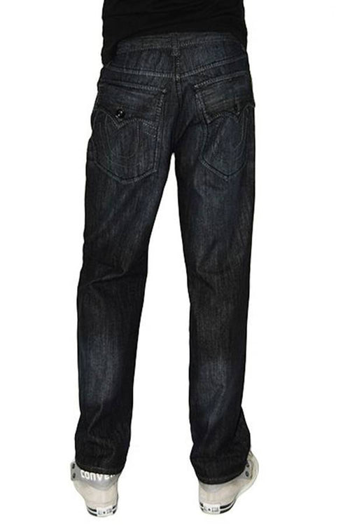 Black Denim Boot Cut Jeans - Home Goods Galore