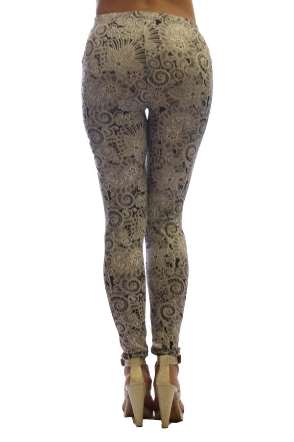 2 Pack Fashion Print Women's Leggings - Home Goods Galore