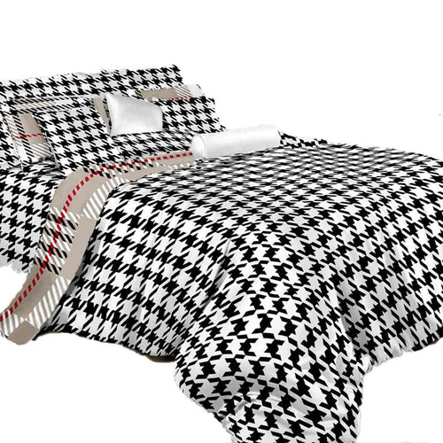 Duvet cover set Luxury King bedding Dolce Mela DM498K - Home Goods Galore