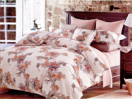 Duvet cover set Luxury Twin bedding Dolce Mela DM501T - Home Goods Galore