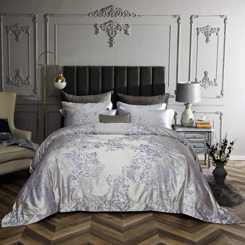 [Scene Savannah] Quilted Patchwork Down Alternative Comforter Set (Twin Size)