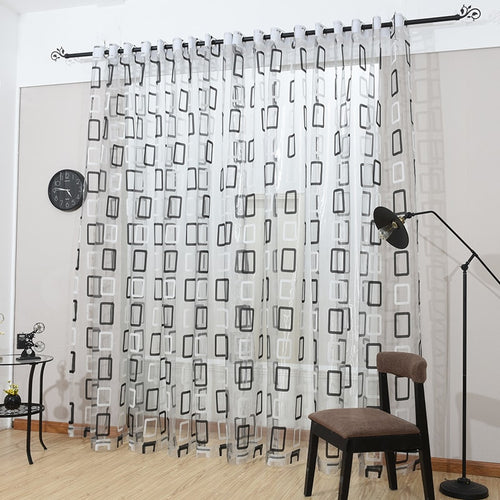 Sheer Curtains Window Treatments - Dolce Mela DMC470 - Home Goods Galore