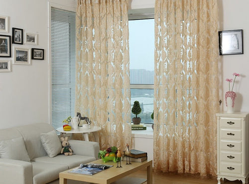 Sheer Curtains Window Treatments - Dolce Mela DMC475 - Home Goods Galore