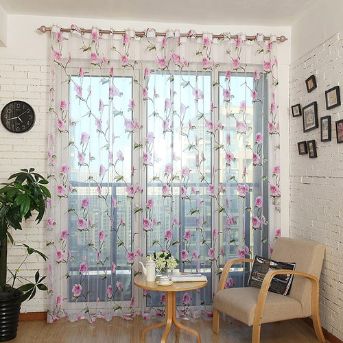 Sheer Curtains Window Treatments - Dolce Mela DMC478 - Home Goods Galore