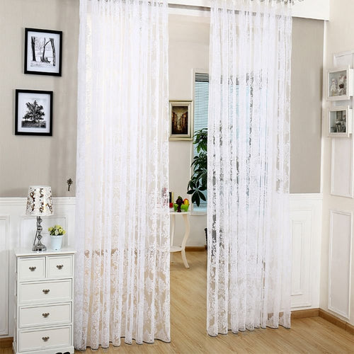 Sheer Curtains Window Treatments - Dolce Mela DMC481 - Home Goods Galore