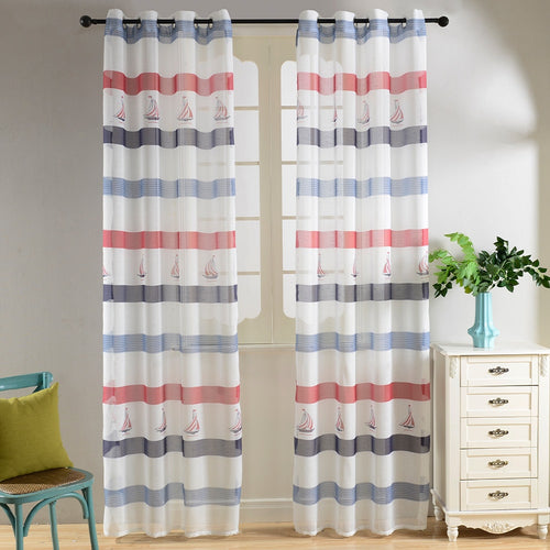 Sheer Curtains Window Treatments - Dolce Mela DMC487 - Home Goods Galore