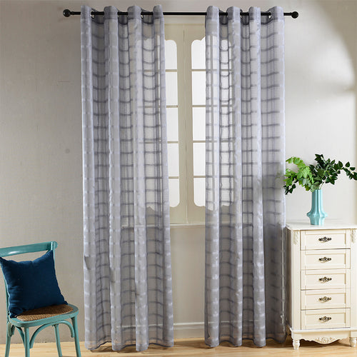 Sheer Curtains Window Treatments - Dolce Mela DMC489 - Home Goods Galore