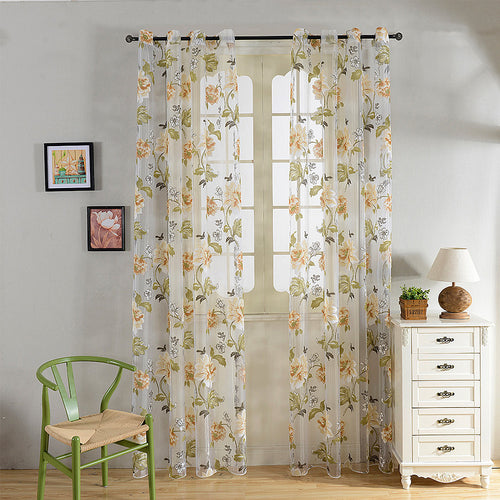 Sheer Curtains Window Treatments - Dolce Mela DMC491 - Home Goods Galore