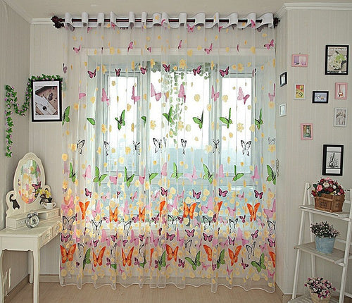 Sheer Curtains Window Treatments - Dolce Mela DMC492 - Home Goods Galore