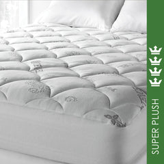 SPA LUXE® TENCEL® BLEND COOL TOUCH PLUSH MATTRESS PAD