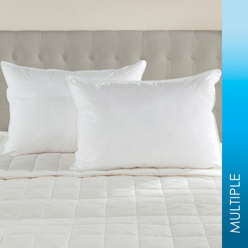 600 FILL POWER WHITE GOOSE DOWN PILLOW - Home Goods Galore