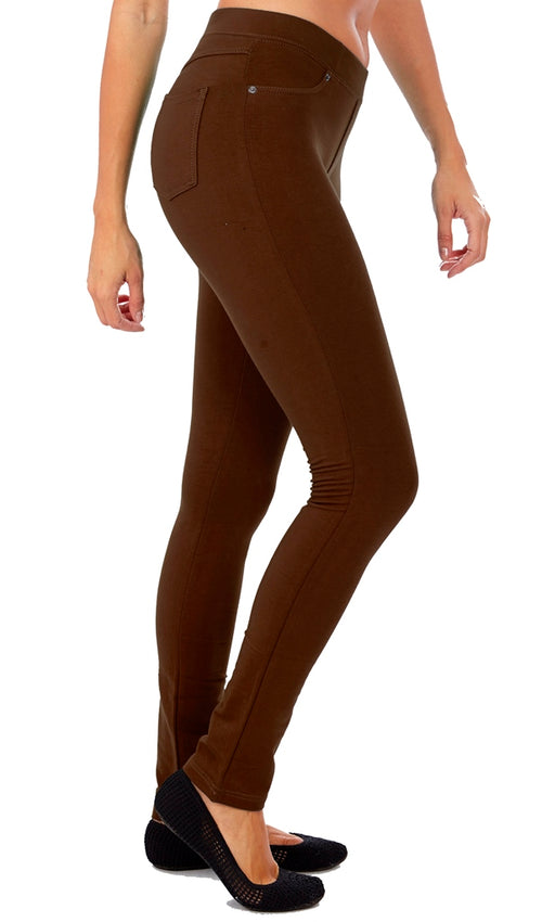 Women's Pull On Jeggings-French - Home Goods Galore