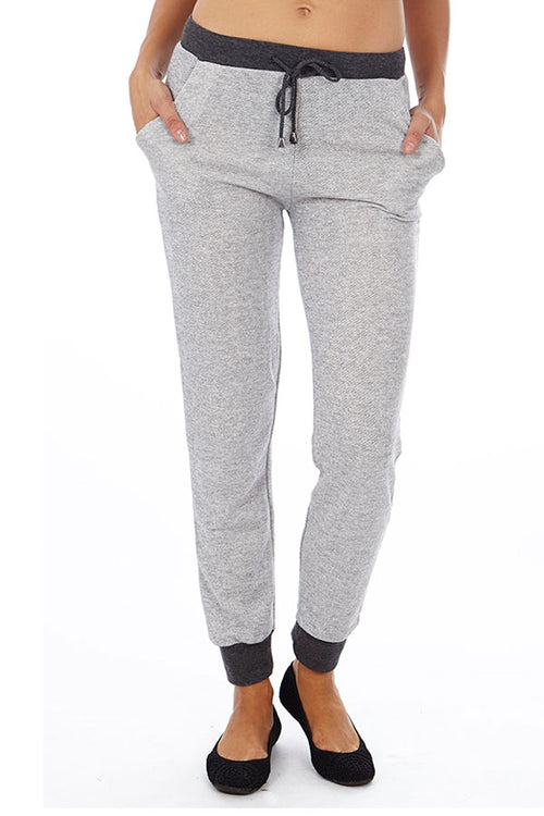 Grey Heather French Terry Joggers - Home Goods Galore