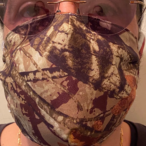 Handmade Camouflage Face Mask