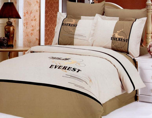 Duvet cover set Luxury FullQueen bedding Le Vele LE133Q - Home Goods Galore