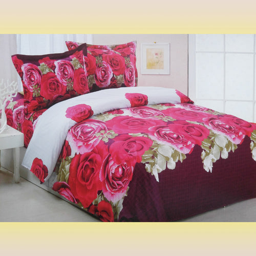 Full/Queen Size Duvet Cover Sheets Set, Wish - Home Goods Galore