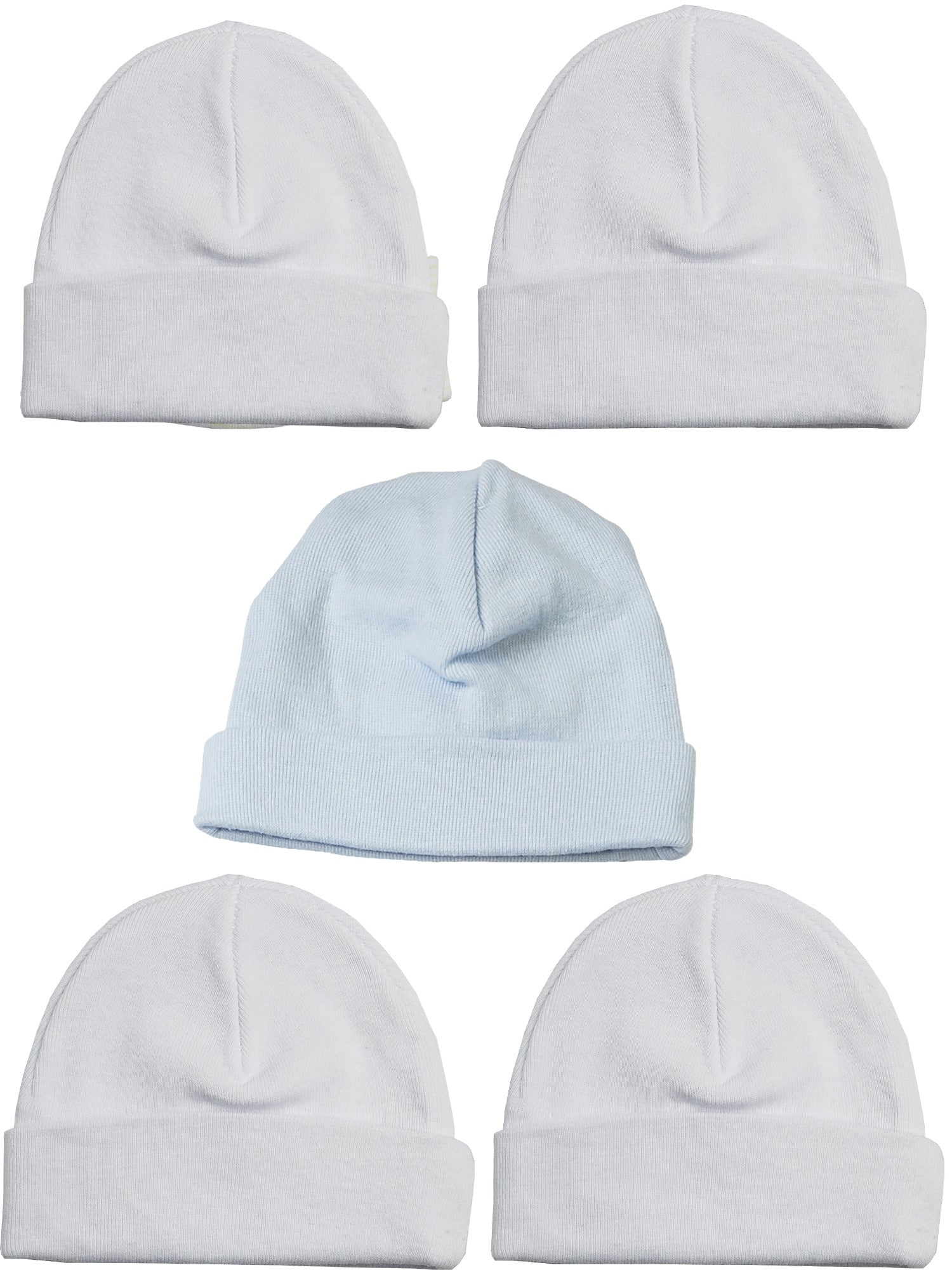 Bambini Boys Baby Caps (Pack of 5)